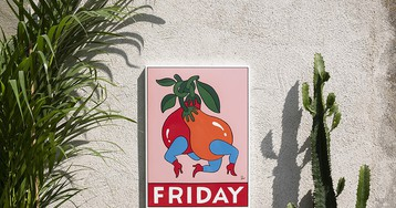 Case Studyo & Parra Celebrate 'FRIDAY' With Limited Edition Metal Sign