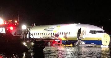 Un avión de pasajeros acaba sobre un río en Florida sin causar víctimas mortales