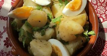 Андалусский картофельный салат