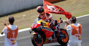 Marc Márquez gana el Gran Premio de Jerez, en imágenes