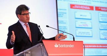 Santander comienza este lunes a negociar con los sindicatos el ERE