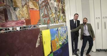 217 lienzos de Ruiz Balerdi se trasladan del Bellas Artes de Bilbao a Gipuzkoa