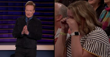 Conan Makes A Woman In The Audience Cry