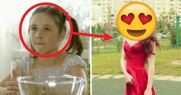 «А ты налей и отойди». Девочка из рекламы сока стала красоткой-актрисой