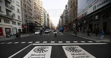 Madrid Central reduce en abril la contaminación en el centro sin 'efecto frontera'