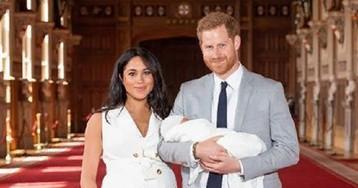 Меган Маркл и принц Гарри опубликовали первое фото с новорожденным сыном
