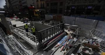 Canalejas tendrá que indemnizar a Metro por el corte de la línea 2