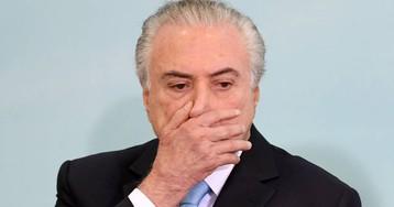 El expresidente brasileño Michel Temer se entrega y vuelve a la cárcel