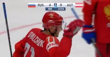 Здесь дубль Дадонова, шайбы Кучерова, Телегина и Ковальчука. Россия снова забросила 5