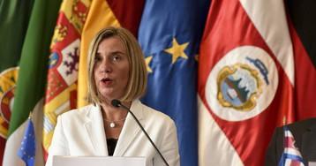 """La UE busca una """"solución pacífica"""" a la crisis de Venezuela"""