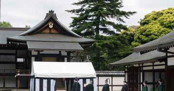 Japan uses turtle divination for emperor enthronement rites