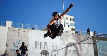 Boards not borders: Gaza youth skate in search of fun – in pictures