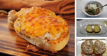 """Умопомрачительный бутерброд """"Tuna melt"""""""