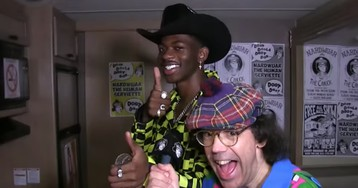 Lil Nas X and Nardwuar Link for Hilarious Interview