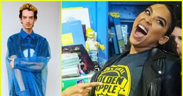 Kodi Smit-McPhee & Alexandra Shipp Team Up To Celebrate 'X-Men' Day!