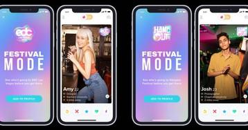 Tinder activa el 'Modo Festival' y te ayuda a ligar antes de entrar al recinto