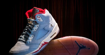 This Air Jordan 5 Is Inspired by Michael Jordan's Trophy Room