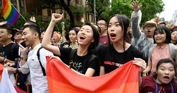 Taïwan : le Parlement légalise le mariage gay, une première en Asie