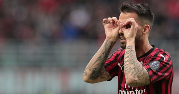 Suso Channels His Inner Messi With A Near-Perfect Free Kick To Keep Milan's Champions League Hopes Alive