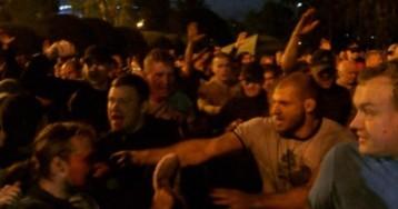 Бойцы разгоняли митинг в Екатеринбурге и нападали на сотрудников ГИБДД в Осетии