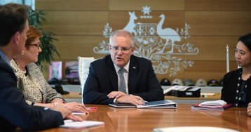 Federal election 2019: Scott Morrison's government on track for majority with 78 seats – politics live