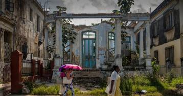 El encanto colonial de La Habana se derrumba