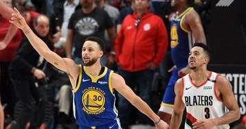 Los Warriors cierran en la prórroga ante Portland y están en su quinta final seguida