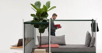 GRID by ronan & erwan bouroullec responds to the rise of live-work spaces