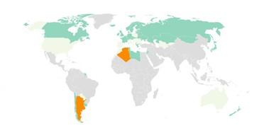 Argentina y Argelia se unen al 'club' de 38 países declarados libres de malaria