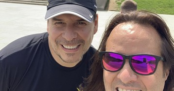 Heads of Sprint and T-Mobile GoJogging Together in Washington