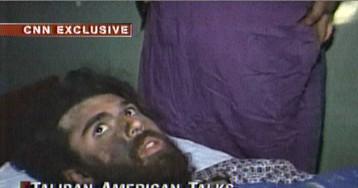 Puesto en libertad el 'talibán americano', condenado por colaborar con Al Qaeda