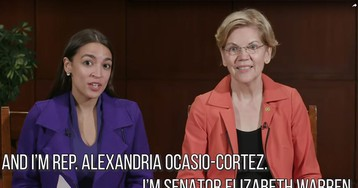AOC, Warren team up for new video pressing Mnuchin over Sears bankruptcy