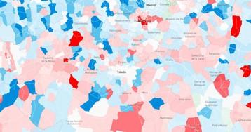 El mapa de los feudos: los municipios donde el alcalde siempre ha sido del mismo partido