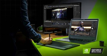 NVIDIA Studio brings RTX laptops to designers and creators