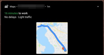 Google Maps adds helpful route preview to commute notifications