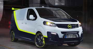 Opel reimagines the A-Team van as the O-Team Zafira Life