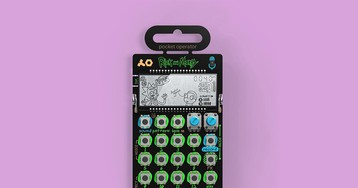 Teenage Engineering Celebrates 'Rick and Morty' With Limited Edition Pocket Operator