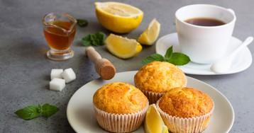 Домашние лимонные кексы