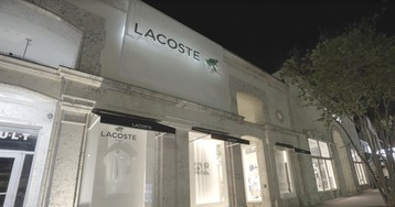 Crocodiles Take a Step Back as Lacoste Transforms Their Stores in Collaboration with Save the Species