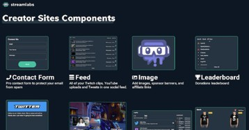 Streamlabs unveils Creator Sites to help influencers monetize streams and grow brands