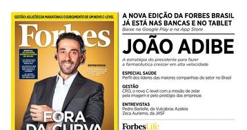 João Adibe é destaque da nova edição da Forbes Brasil