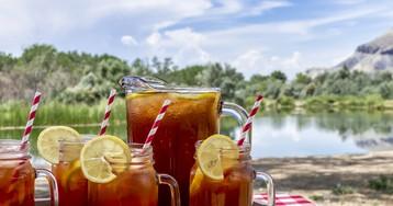 7 идей холодного летнего чая
