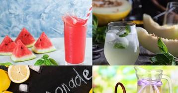 3 удачных рецепта летних лимонадов