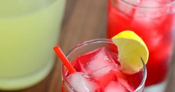 The Best Homemade Cherry Limeade