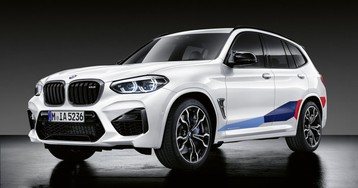 2020 BMW X3 M, X4 M get a bunch of carbon fiber baubles