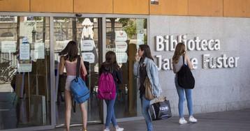 Las bibliotecas de Barcelona hacen su primera huelga
