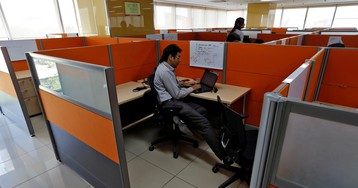 A dramatic suicide threat puts the spotlight on the deeply disturbed Indian employee