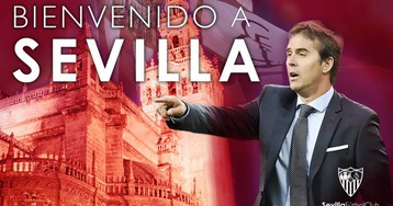 El Sevilla ficha a Julen Lopetegui