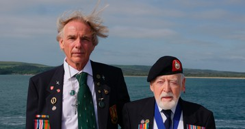 Suddenly it's D-Day again; aging veterans recall invasion
