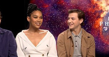 Evan Peters, Alexandra Shipp and Tye Sheridan on 'Dark Phoenix' & First Celebrity Crushes